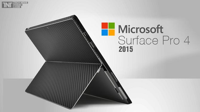 Microsoft Surface Pro 4 sẽ được giới thiệu vào tháng 10, sử dụng chip Intel Skylake