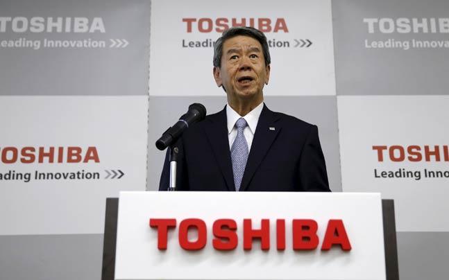 """CEO Toshiba có thể phải ra đi sau bê bối kế toán """"tỷ đô"""""""