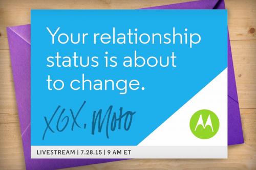 Motorola gửi giấy mời sự kiện ngày 28/7, ra mắt Moto X và Moto G mới?