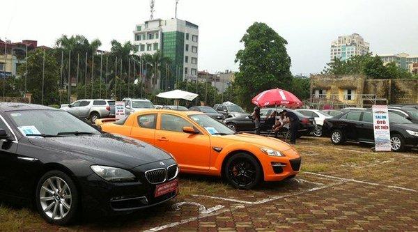 Đìu hiu như chợ xe hơi cũ Việt Nam