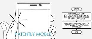 Dế Samsung có thể được điều khiển từ mặt sau