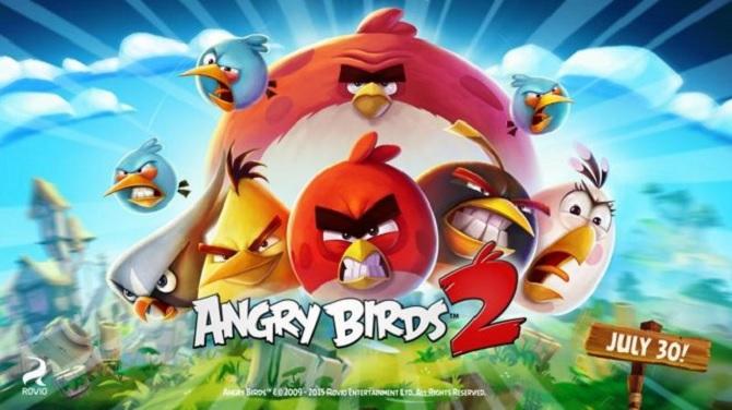 Angry Bird 2 sẽ không có mặt trên Windows Phone