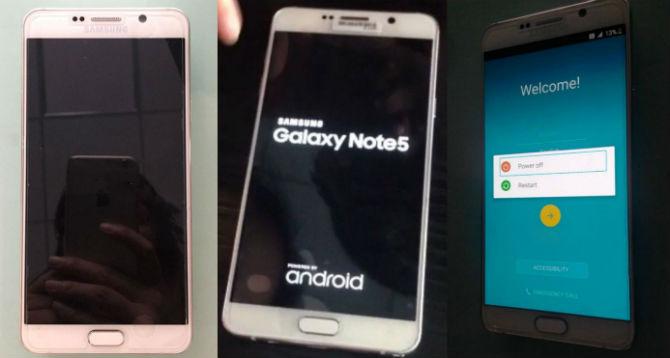 Lộ ảnh thật Samsung Galaxy Note 5 và S6 edge Plus