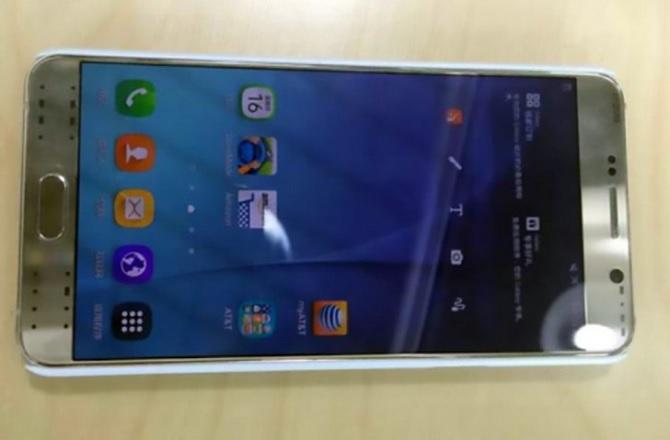 Lộ diện ảnh thực tế của Samsung Galaxy Note 5