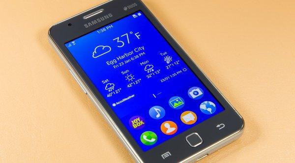 Samsung Z1 bán chạy hơn cả Galaxy S6 tại Ấn Độ