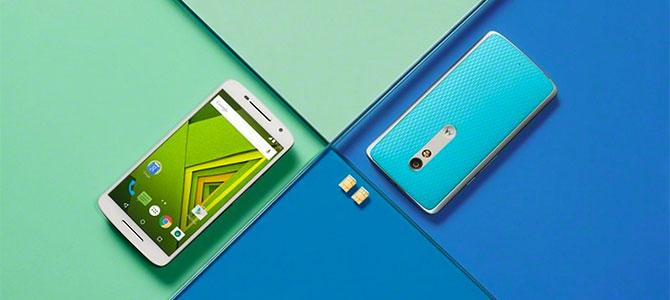 Motorola trình làng Moto X Style và Moto X Play với camera 21MP