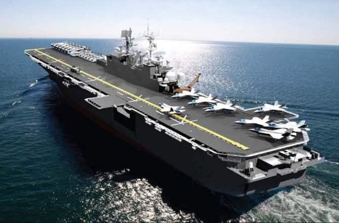 """Trái với tình cảnh """"dở khóc dở cười"""" của dự án F-35, chương trình xây dựng tàu hàng không mẫu hạm dành cho chiếc tiêm kích hiện đại này hiện đang tiến triển rất tốt."""