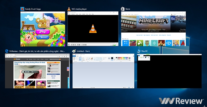 Hướng dẫn sử dụng tính năng Task View và Vitual Desktop trên Windows 10