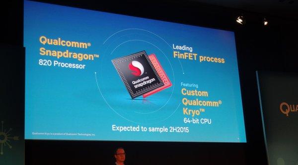 Lộ diện thông số chip Snapdragon 820, CPU mạnh hơn 35%, GPU hơn 40%