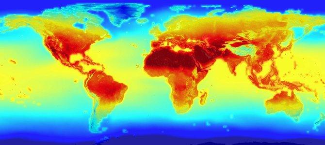 NASA công bố mô hình biến đổi khí hậu tới 2100
