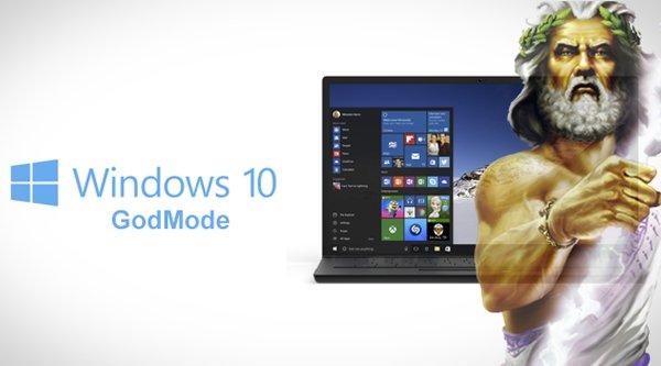 'Hoá thánh' với GodMode trên Windows 10