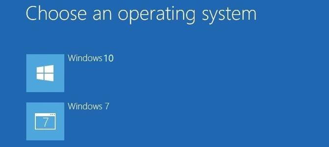 Cách cài dual boot Windows 10 và Windows 7 trở lên