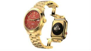 Apple Watch được chọn làm nền cho... đồng hồ Thụy Sĩ