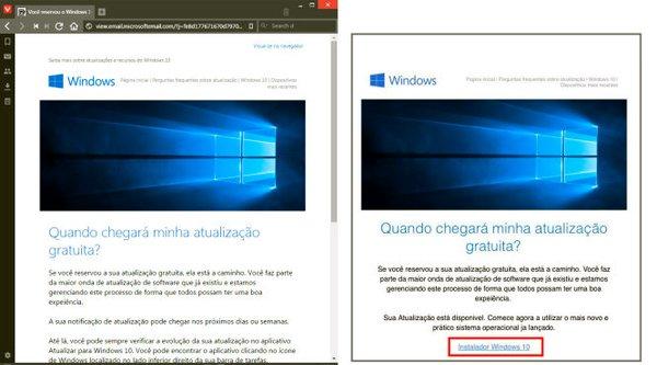 Mạo danh cài đặt Windows 10 để lừa người dùng