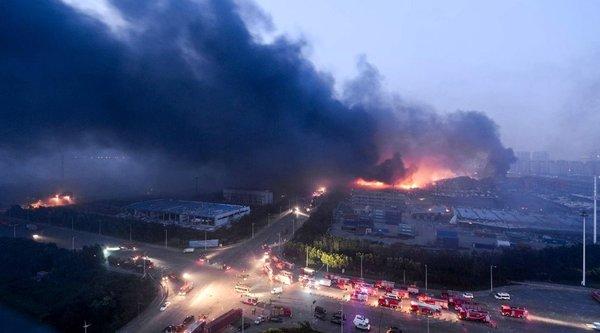 Trung Quốc đóng cửa 50 website loan tin 'đồn' về vụ nổ Thiên Tân