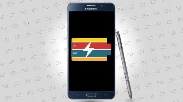 Galaxy Note 5 dung lượng pin thấp hơn nhưng dùng lâu hơn Note 4