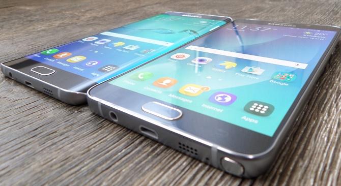 """Bạn đã bao giờ băn khoăn """"Galaxy S6 edge+ đến Trái đất để làm gì"""" hay chưa? Câu trả lời dành cho bạn sẽ là: iPhone 6 Plus.  Có thể nói rằng Galaxy Note 4 không """"nuột"""" như iPhone 6 Plus."""
