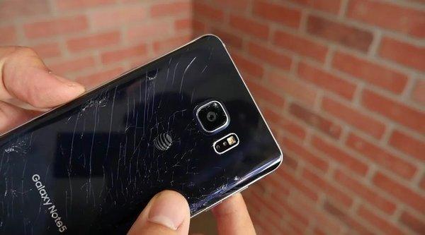 Thử nghiệm thả rơi Samsung Galaxy Note 5