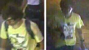 Hình ảnh kẻ đánh bom Bangkok bị ghi lại qua camera an ninh