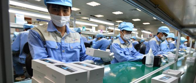 Truyền hình trực tiếp sự kiện tham quan nhà máy sản xuất Bphone