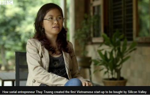 BBC gọi đồng sáng lập Tappy là 'Nữ hoàng khởi nghiệp' Việt