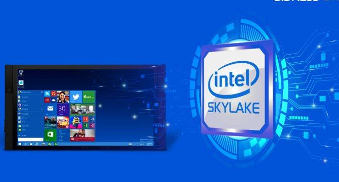 Vi xử lý Skylake của Intel cho phép đánh thức máy tính bằng giọng nói