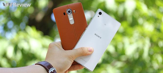 Đọ camera: LG G4 đối đầu Sony Xperia Z3+
