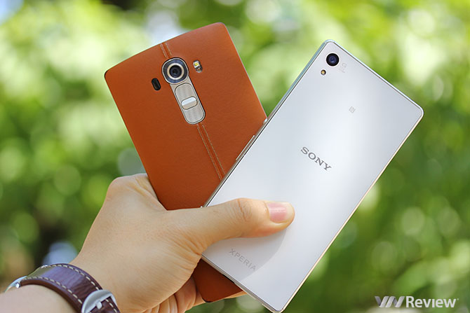 LG G4 đè bẹp Sony Xperia Z3+