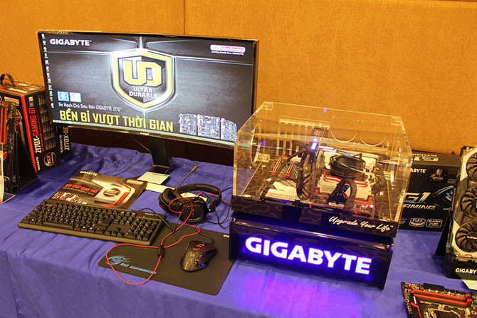 Gigabyte giới thiệu dòng mainboard Series 100