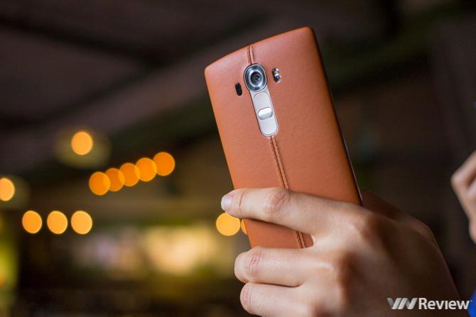 LG G4 bản vỏ da giảm giá 2 triệu đồng tại Việt Nam