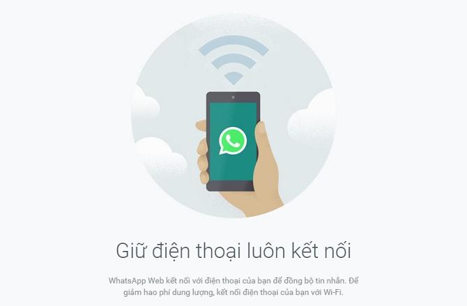 Đã có thể gửi tin nhắn WhatsApp từ web sang iPhone