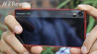 Cận cảnh điện thoại chụp ảnh Lenovo Vibe Shot: camera 16MP, 3 đèn flash