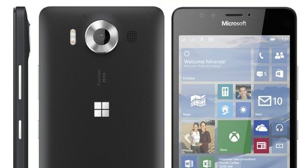 Lộ tiếp ảnh render Lumia 950 và 950 XL