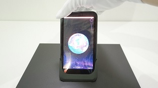 Smartphone uốn cong màn hình để điều khiển ứng dụng