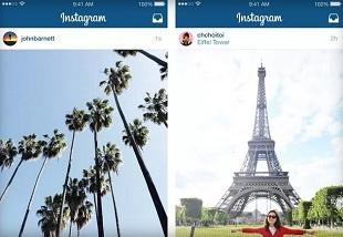 Instagram cho phép đăng ảnh và video full-size