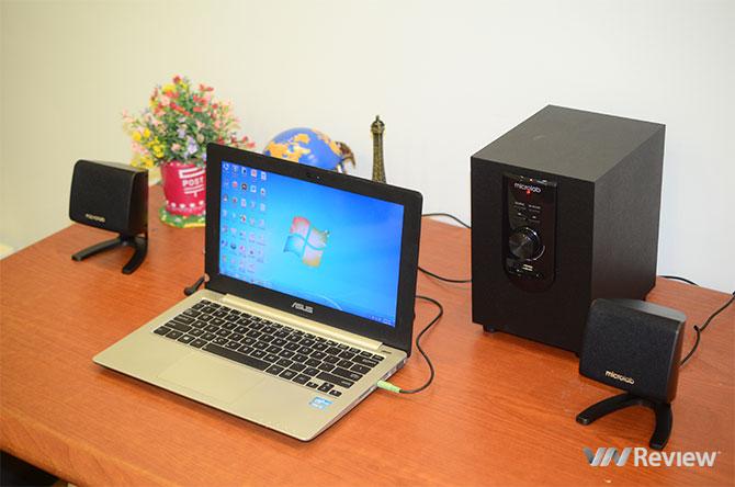 """Đánh giá loa Microlab M-108U giá """"siêu mềm"""""""
