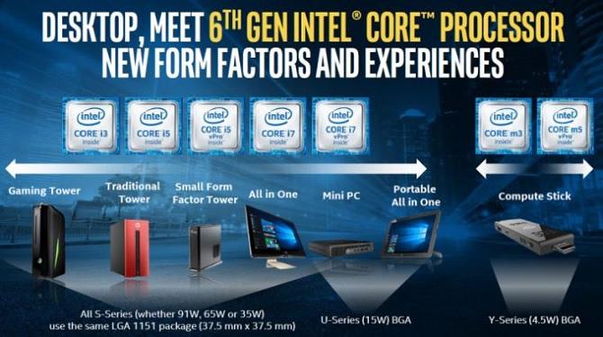 Intel ra mắt Skylake dành cho máy tính và thiết bị di động