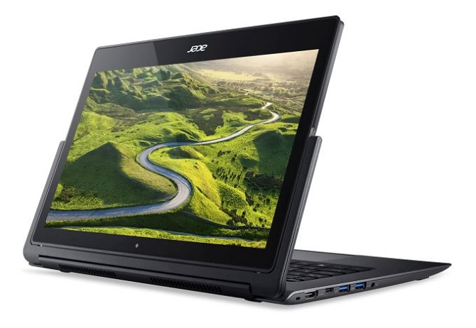 Acer trình làng laptop lai Aspire R 13 với chipset Intel Core i7 Skylake