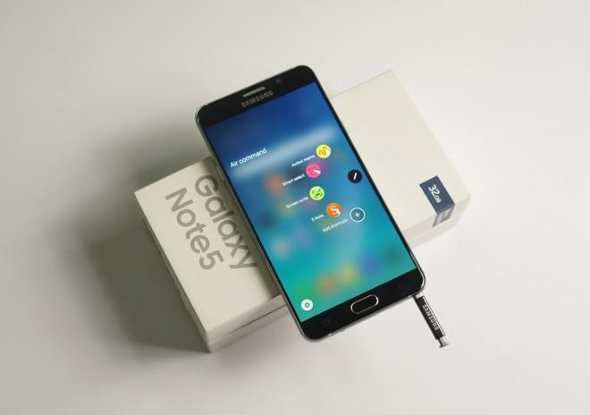 Galaxy Note 5 khan hàng, S6 bán chậm tại Việt Nam