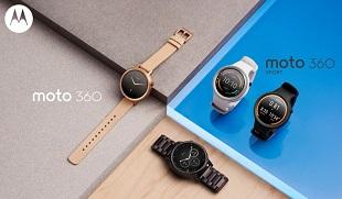 Motorola trình làng Moto 360 và Moto 360 Sport mới: hai kích cỡ, giá từ 300 USD