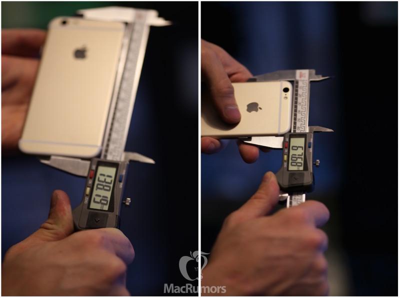 iPhone 6s/6s Plus đều dày hơn thế hệ cũ?