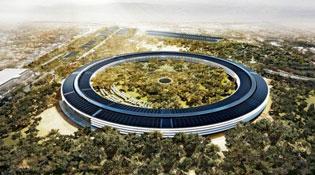 Ngắm trụ sở mới của Apple đang xây qua video quay bằng drone