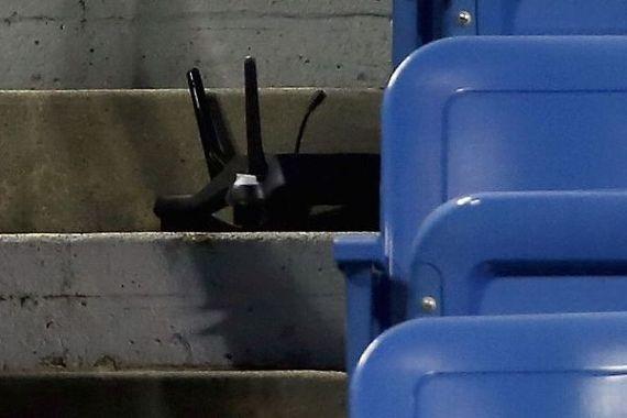 Drone rơi làm náo loạn trận tennis tại giải Mỹ mở rộng