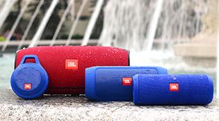 Trải nghiệm nhanh 4 loa Bluetooth chống nước của JBL mới bán ra