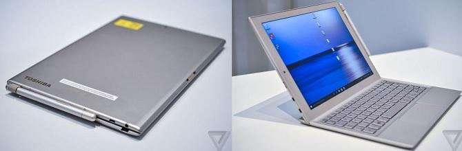 Toshiba gia��i thia��u concetp tablet cha??y Windows siA?u ma�?ng, 12 inch