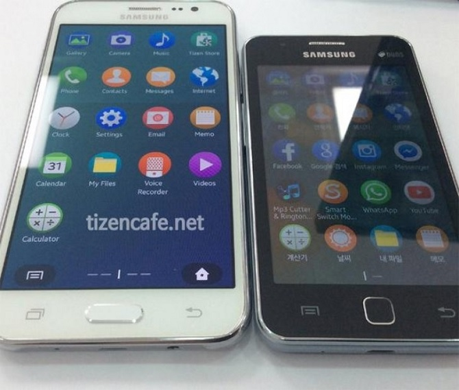 Lộ diện ảnh thực tế của Samsung Z3 chạy Tizen
