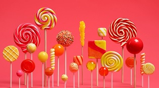 """21% thiết bị Android đã """"ăn kẹo"""" Lollipop"""