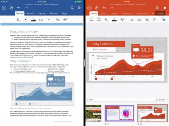Microsoft Office 2016 sẽ được phát hành trong tháng 9, tương tự như phiên bản cho iOS 9