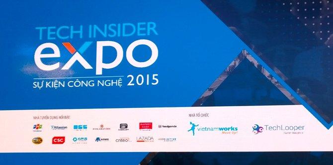 Tech Insider Expo 2015 - Cơ hội việc làm và kinh nghiệm cho bạn trẻ mê CNTT