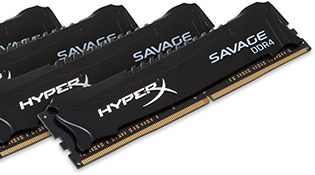 HyperX ra mắt bộ nhớ RAM tốc độ cao Savage DDR4